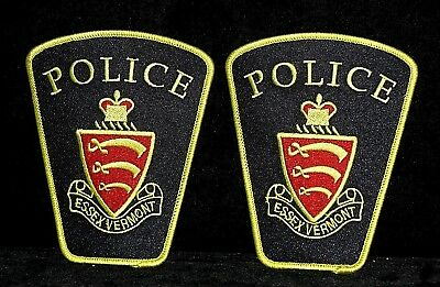 Essex Vermont Police Patch - Free Shipping Possible
