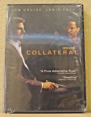 Collateral (DVD, 2004, 2-Disc Set) LIKE NEW>FREE SHIPPING!