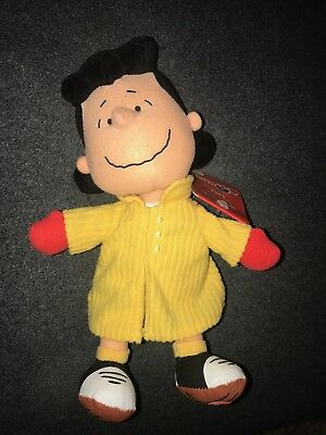 Lucy Charlie Brown Talking Doll New With Original Hallmark Tags