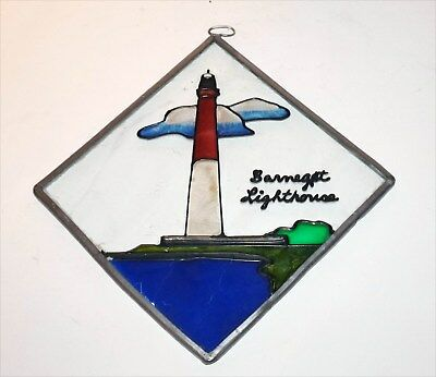 Stained Glass Window Hanging, Barnegat Light House, New Jersey