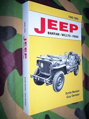 book BECKER Jeep Bantam Willys Ford  1940 1945 MILITARIA WW2 M 201 HOTCHKISS usa