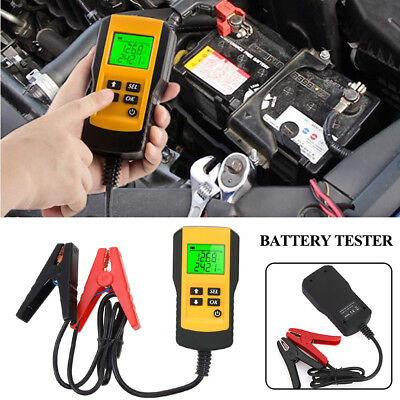 AE300 12V Digital LCD Car Storage Battery Load Tester  DiagnosticTool