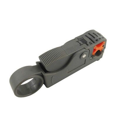 Rotary Coaxial Coax Cable Cutter Stripper Sky TV Network wire RG6 RG58 RG59 D8C