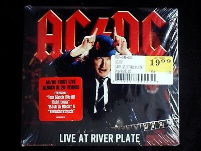 AC/DC - Live at River Plate 2CD SEALED Digipak
