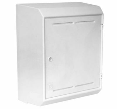 MK2 Mitras Surface Mounted GAS Meter Box MeterBox MK2 White National Grid G70036