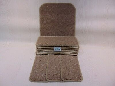 15 Stair Pads treads 50 cm x 20 cm and 1 Big Mast at 76 cm x 46 cm #2898-3