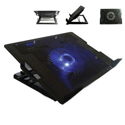 For Laptop Notebook Computer PC Cooler Cooling Stand Air Extracting USB Fan Pad/