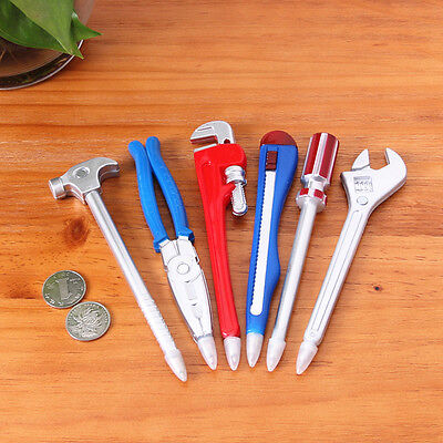 Creative Wrench Tool Ballpoint Pen Novelty School Office Gift Kid Toy Stationery