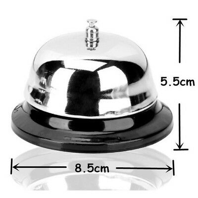 Restaurant Service Metal Bell Hotel Bar Desk Ring Reception Call Counter Ringer