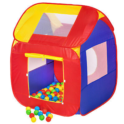 Tenda giochi per bambini + 200 Palle POP-UP gioco Piscina di Palline Playhouse