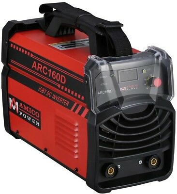 AMICO POWER Inverter Welding Machine 160 Amp Dual Voltage Overload Protection