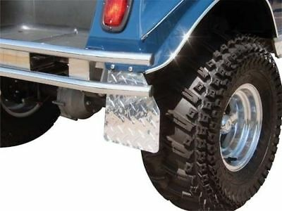 Diamond Plate Mud Flaps For Club Car DS Golf Carts