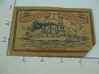 vintage needle pack w/ DREADNAUGHT & KING GEORGE not complete