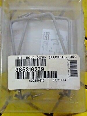 SaniPottie Portable Toilet Hold Down Brackets FOR DOMETIC SEALAND 310239 Boat RV