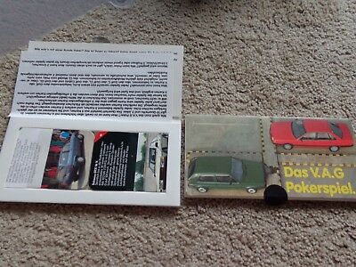 1986 Volkswagen Audi Sport Quattro Coupe GT Scirocco GTX Series of Cards VW AG