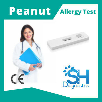 SH Diagnostics- Peanut Allergy Test, 98.3% Accurate, CE Approved, 10min results