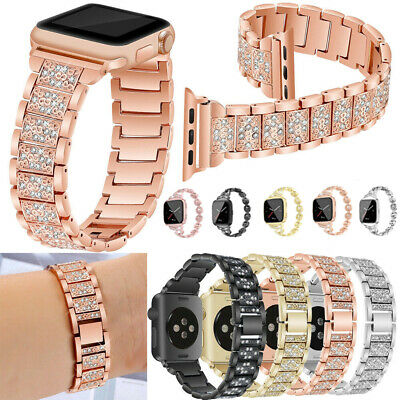For Apple Watch Series 4 3 2 38/42MM Stainless Steel Bracelet iWatch Band Strap