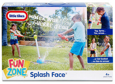 Little Tikes Splash Face Fun Zone Outdoor Toys