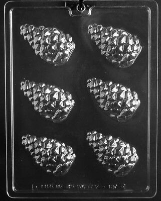 NEW PINE CONE PIECES CHOCOLATE MOLD fall theme festive thanksgiving pinecone