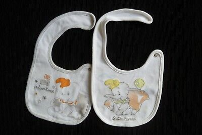 Baby clothes UNISEX GIRL BOY premature/newborn Disney Dumbo elephan feeding bibs