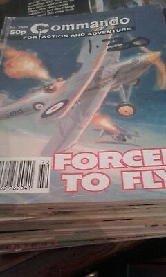 Commando for Action and Adventure (U.K.) #2986 Forced to Fly from 1996