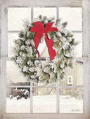 Art Print, Framed or Plaque By Lori Deiter - On the Farm Window View - LD1471