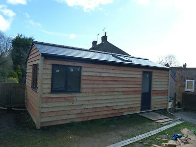 TINY HOUSE .  HIGH SPECIFICATION BUILT TO BUILDING REGS . 7M X 3M . £900m2