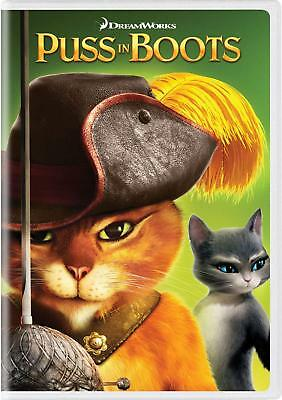 Puss in Boots DVD Dreamworks - SHIPS IN 1 BUSINESS DAY W/TRACKING