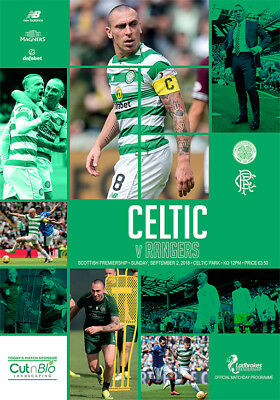 CELTIC  v  RANGERS  2/9/2018  ( NOW POSTING )OFFICIAL PROGRAMME