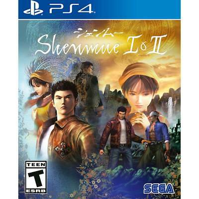Shenmue I & II Launch Edition - PlayStation 4