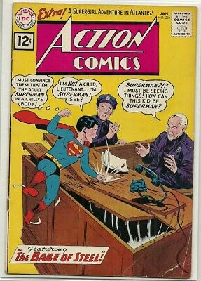 Action Comics # 284 [Baby Superman]