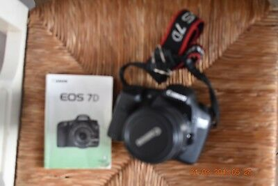 Canon EOS 7D 18.0MP Digital SLR Camera - Black (Kit w/ EF-S IS STM 18-135mm Lens