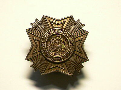 Veterans Of Foreign Wars United States Screwback Vintage PIN #G6310