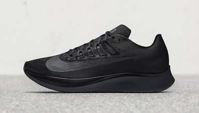 ae2845a79abe NEW Nike ZOOM FLY Men s Running Shoes Black Anthracite 880848 003 Retail   150