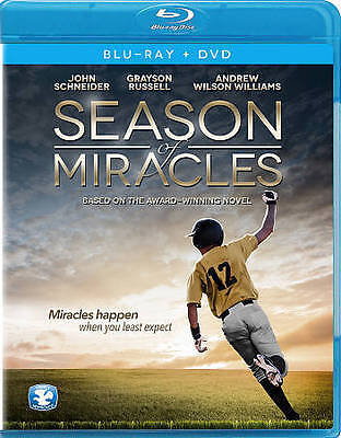 Season of Miracles (Blu-ray/DVD, 2013, 2-Disc Set) BRAND NEW! FACTORY SEALED!