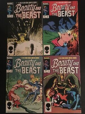 Beauty And The Beast Complete Set Limited Series 1-4