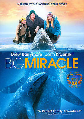 Big Miracle (DVD, 2012) SHIPS IN 1 BUSINESS DAY WITH TRACKING