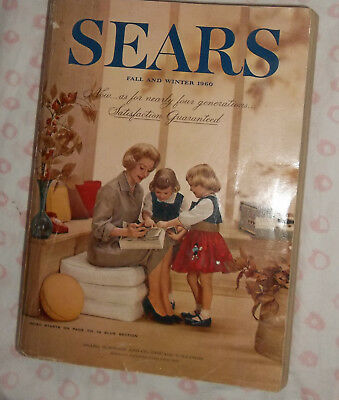 Vintage 1960 FALL/WINTER SEARS ROEBUCK & COMPANY CATALOG  Over 700 Pages