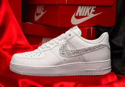 NIKE AIR FORCE 1 Low Just Do It EUR 94,90 | PicClick FR