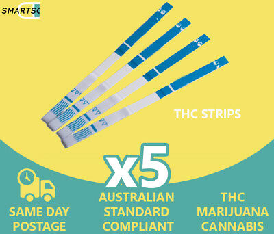 THC Urine Drug Testing Strips for detection of Marijuana in Urine Drug Test