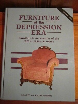Furniture of the Depression Era Robert W. & Harriett Swedberg 1996 Hardcover