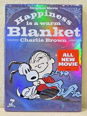 Happiness Is a Warm Blanket, Charlie Brown (DVD, 2011) BRAND NEW>FREE SHIPPING!