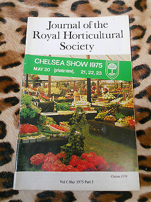 Journal of the royal horticultural society , vol C, may 1975 part 5