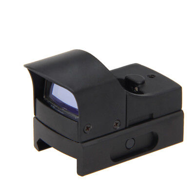 Micro Mini Tactical Compact Holographic Reflex Red Green Dot Sight Scope Rifle Q
