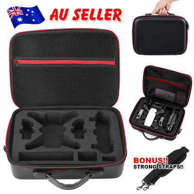 For DJI Spark Waterproof Drone Hard Shell Box Carrying Case Suitcase Hand Bag OZ