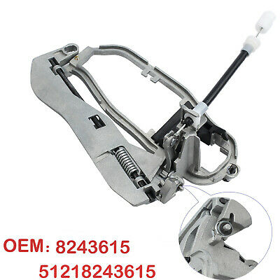 Outside Door Handle Carrier Front Left Side 51218243615 For BMW X5 E53 2000-2006