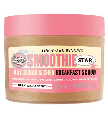 Soap And Glory Smoothie Star Breakfast Scrub Body Smoother 300ml