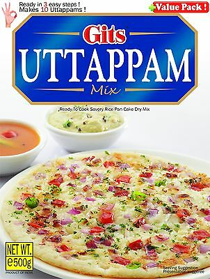Gits Uttappam mix 500gm ready to cook