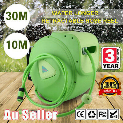 """Automatic Hose Reel including Hot Water Hose ½"""" (CAT 79RH) green 10M/30M WSX"""