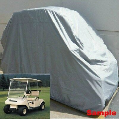1pcs Golf Cart Cover Waterproof 2/4 Passenger Golf Cart Roof for Club Car Yamaha